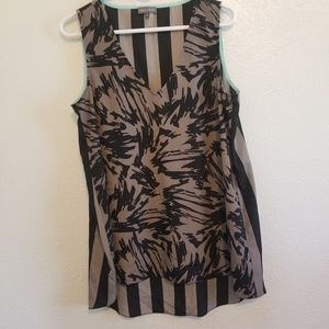 Vince Camuto High Low Tank Top A08